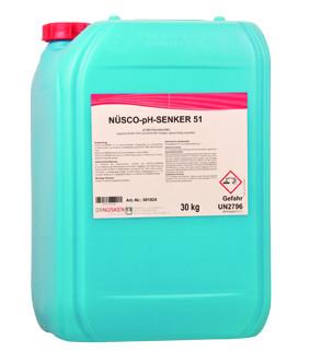 NÜSCO-pH-SENKER 35Kg flüssig