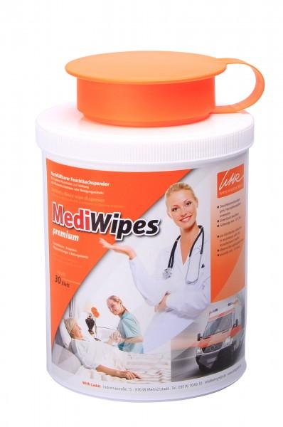 MediWipes Spenderdose mini Vorteilspack (5 Stück)