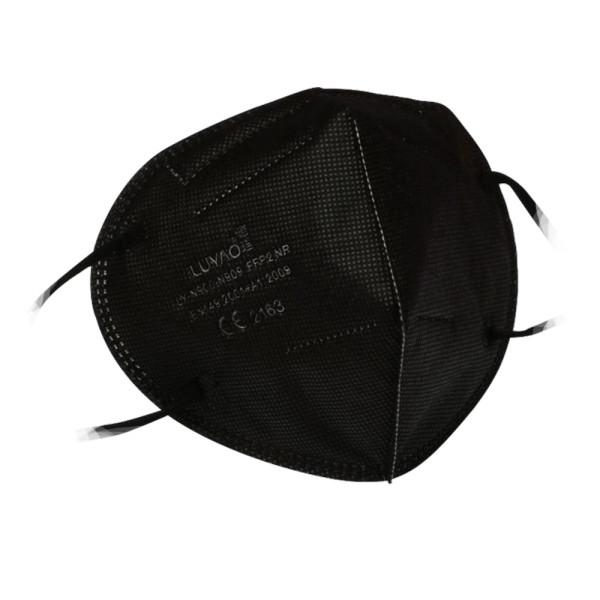 Luyao FFP2 Maske Mundschutz schwarz (20 Stück)